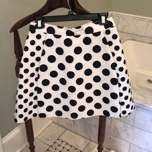 Mustard Seed Good Condition Polka Dot Skirt Med